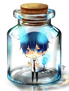 bottle meme: Rin by =shouu-kun on deviantART