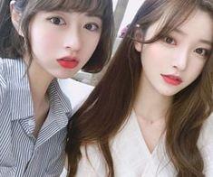 Ulzzang Girl Selca, Ulzzang Korean Girl, Cute Korean Girl, 90s Grunge Hair, Korean Best Friends, Alia And Varun, Korean Beauty Girls, Cute Anime Couples, Kawaii Girl