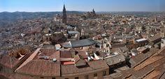 High resolution panorama of Toledo