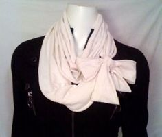DIY Circle Scarf | A girl should be two things. Classy.and.Fabulous.