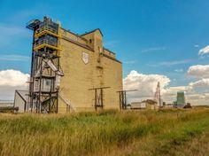 Milk River Alberta grain elevator