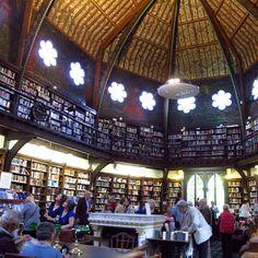 Oxford Union Library, una biblioteca neogótica. | Matemolivares