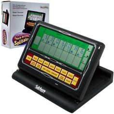 Trademark Poker Touch Screen Portable Video Solitaire Multicolor - Portable Video Player - Ideas of Portable Video Player - - Trademark Poker Touch Screen Portable Video Solitaire Multicolor Screen Cards, Arcade Game Machines, Solitaire Games, Game Prices, Deck, Electronic Recycling, Time Shop, Family Games, Portable