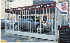 Cuando un Mini es un Gigante - Publicidad Brilliant del Mini Cooper