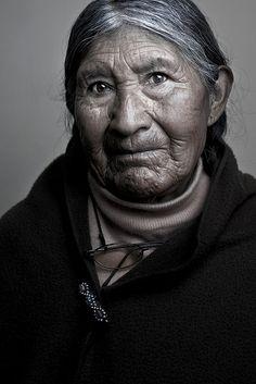 Petrona    Asilo Quevedo - La Paz , Bolivia ,- by Ilgda