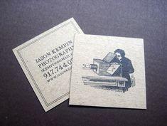 15 Cartões de Visitas em formato quadrado-Des1gn ON - Blog de Design e Inspiração.