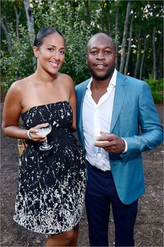 Alexandra Dettori and Brian Bejile. The Watermill Center: 22nd Annual Summer Benefit & Auction.