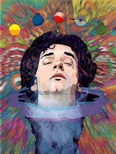 2160x3840 Wallpaper, Soda Stereo, Cultura Pop, Trippy, Rock Bands, Rock And Roll, Pop Culture, Pop Art, Singer