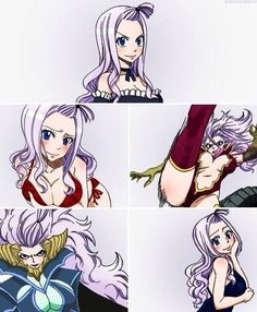 Image de fairy tail, anime, and mirajane