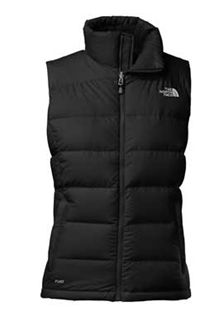 The North Face Nuptse 2 Vest for Women in Black Black North Face Vest a7478f584