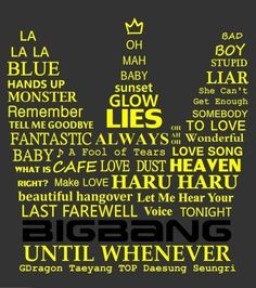 VIP crownlightstick made up of BIGBANG's song(: