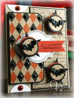 Very elegant Halloween card....I need to make these for the grands.