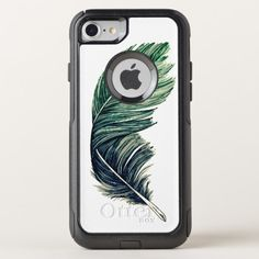 Feather OtterBox Commuter iPhone 8/7 Case Custom Brandable Electronics Gifts for your buniness #electronics #logo #brand