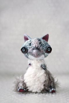 gray owly by da-bu-di-bu-da on DeviantArt