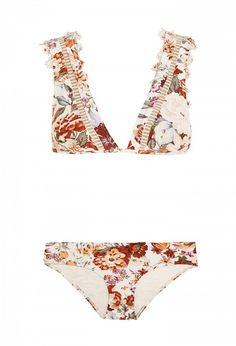 Zimmerman Alchemy Floral-Print Bikini