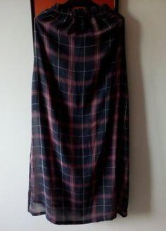 Kup mój przedmiot na #vintedpl http://www.vinted.pl/damska-odziez/spodnice/15294501-maxi-spodnica-w-krate