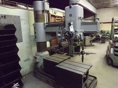 """PA - CNC & Tool Room Equipment - August 28th - Bidding Open August 16th - 28th Auction starts to close at 1 PM eastern on the final day of bidding  SORALUCE RADIAL DRILL PRESS, MODEL No. TP2, S/N AP-99, 220 VOLT, 3 PHASE WITH RECENT COMPLETE ELECTRICAL REWIRING, (2) TABLES 26"""" X 26"""" & 24"""" X 30"""", 3/24"""" CAPACITY (EXCELLENT RUNNING CONDITION).  Available at Online Auction at http://www.acceleratedbuysell.net/cgi-bin/mnlist.cgi?perillo50/category/ALL"""