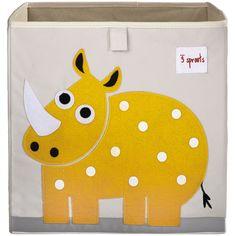 Ce cube de rangement par 3 sprouts sera le grand complice de votre enfant pour ranger ses jouets en un clin d'œil.    Cette boîte peut aussi servir de tiroir pour un meuble à étagère !