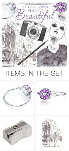 """Be Unique"" by totwoo ❤ liked on Polyvore featuring art"