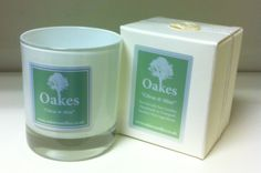 """Oakes Candle """"Citrus Mint"""" 220g To shop follow the website link!"""