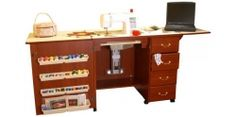 Arrow Marilyn 98302 Sewing Cabinet - cherry finish