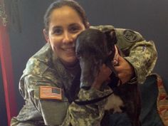 Veterans and Greyhounds