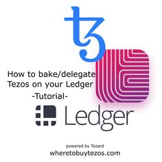 This website gives you a brief overview on how to bake/delegate your Tezos (XTZ) coins. Find a llist of trusted delegation services. Get infos on how to bake/delegate using your hardware wallet (e. Ledger or Trezor).