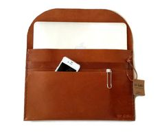 11''  13'' 15''Macbook SleeveGenuine Leather Macbook by toxleather, $75.00