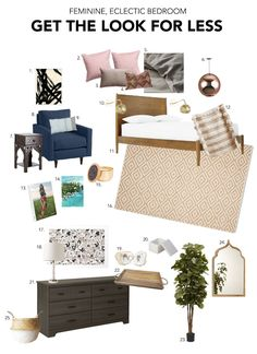 Get this Bedroom Look for Less! www.decorotation.com