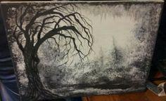 Trees I felt like painting