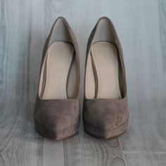 Take It From Me Taupe Heel