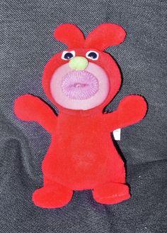 Original Vintage European Model Red SingaMaJig Plush Singing Toy No Shirt VGUC #FisherPrice