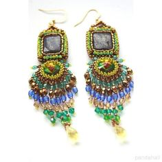 Jewelry Show—Beaded Gorgeous Earrings with Seed Beads and Glass Beads | PandaHall Beads Jewelry Blog