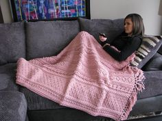 Hey, I found this really awesome Etsy listing at https://www.etsy.com/listing/203879280/light-pink-fisherman-crochet-afghan