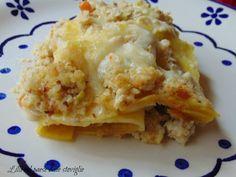 lasagne, primi, pasta fresca, coniglio, carne, ragu