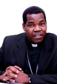 Sudanese Bishop Eduardo Hiiboro Kussala of the Diocese of Tombura-Yambio.