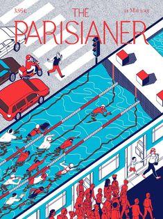 The Parisianer | Illustration by Lou Rihn
