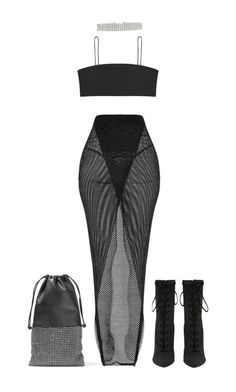 """""""Untitled #1644"""" by elinaxblack ❤ liked on Polyvore featuring Alexander Wang"""