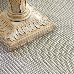 Dash and Albert Baxter Blue Woven Cotton Rug. Give your floors a wow-worthy update with our brand-new woven cotton rug in a tri-colored, intricate pattern, part of our new Bunny Williams collection.