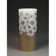 Rosenthal Vase Gold Marguerites Vases, Porcelain, Ceramics, Gold, Collection, Design, Home Decor, Xmas, Flower Vases
