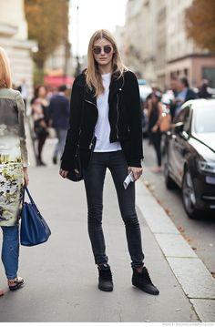 blogmixes: Model off Duty: KORI RICHARDSON - Carolines Mode