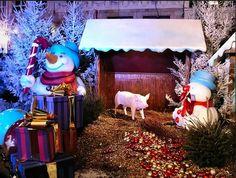 Le #marché de #Noël de #Lille : un marché cosmopolite #snowman #christmas