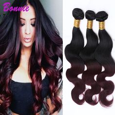 Ms Lula Hair 1b/99j Ombre Brazilian Hair Body Wave Black And Burgundy Brazilian Hair Weave Bundles 2 Tone Human Hair Extensions     #http://www.jennisonbeautysupply.com/    http://www.jennisonbeautysupply.com/products/ms-lula-hair-1b99j-ombre-brazilian-hair-body-wave-black-and-burgundy-brazilian-hair-weave-bundles-2-tone-human-hair-extensions/,               Jennison Beauty Supply     US $97.32,     US $62.28    #http://bit.ly/29iVN39
