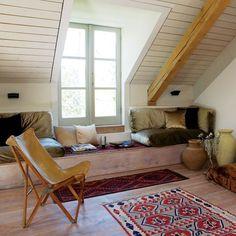 Attic room | Eco-friendly new build house tour
