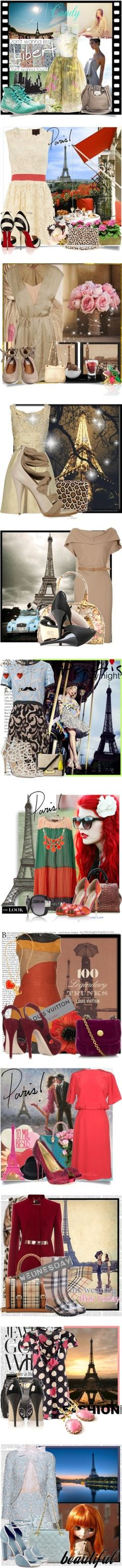 """PARIS & LUXO !"" by labelledejour ❤ liked on Polyvore"