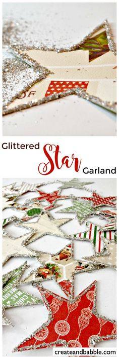 Glitter Star Garland                                                                                                                                                                                 More