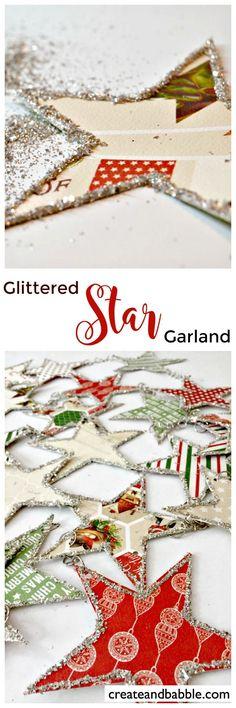 Glitter Star Garland                                                                                                                                                                                 More