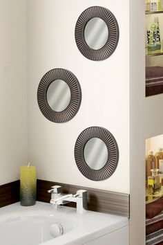 Decoración del hogar. Set de espejos, ideal para colocar en tu recibidor, baño, sala y/o comedor.