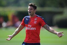 Arsenal InTraining http://www.thegunners247.uk/