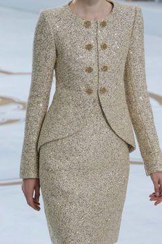 Chanel Fall 2014 Couture Fashion Show - Magda Laguinge